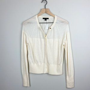 Ann Taylor Button Front Cardigan NWT (M)